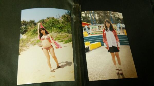 AKB48大島優子 からの手紙…雑誌付録 2枚セット 美品