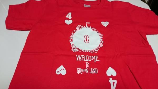 GReeeeN Tシャツ(赤)(160サイズ) ライブグッズの画像