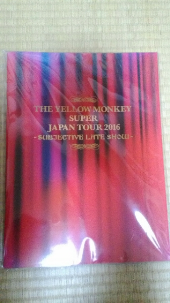 THE YELLOW MONKEY 2016 SUBJECTIVE RATE SHOW パンフレット