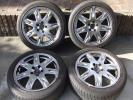 ボルボ V70 純正 17インチ アルミホイール タイヤ 4本 トゥール