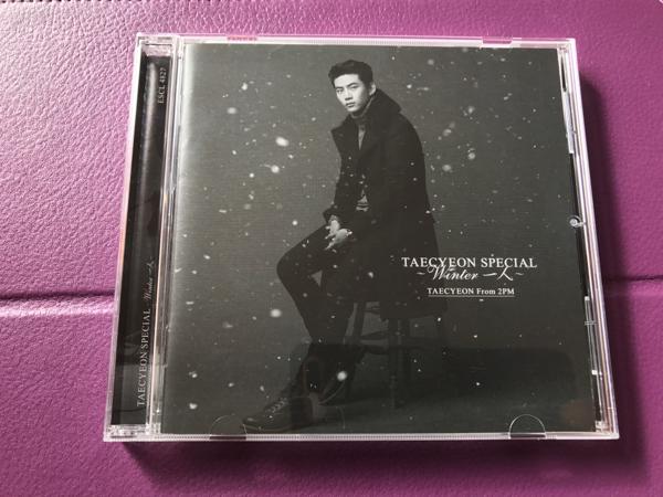 テギョン ソロアルバム Winter一人 通常盤初回仕様限定盤。