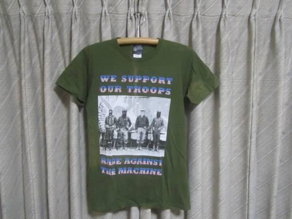 美中古・00´s前期 RAGE AGAINST THE MACHINE/プリントTシャツ(S)KHAKI