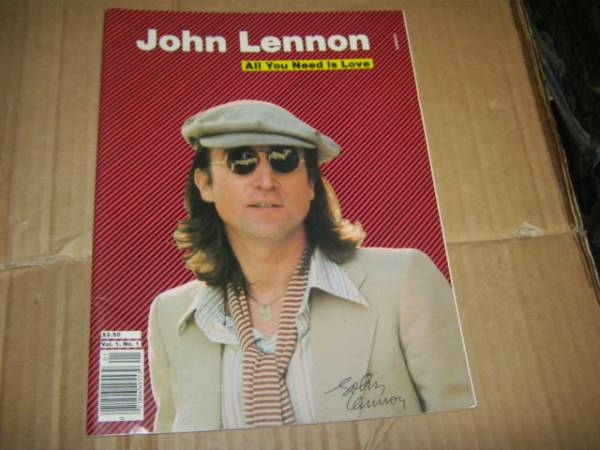 JOHN LENNON ジョンレノン /ALL YOU NEED IS LOVE vol.1 U.S本 BEATLES ビートルズ PAUL McCARTNEY ポールマッカートニー ジョージハリスン_画像1