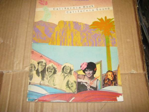 California Rock California Sound 写真+歴史解説 洋書 C.S.N&Y EAGLES JONI MITCHELL LINDA RONSTADT JACKSON BROWN AMERICA