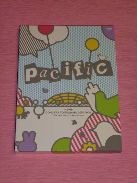 NEWS☆LIVE DVD☆pacific 初回盤☆美品