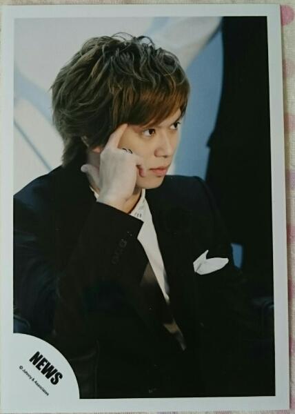NEWS 加藤シゲアキ 貴重 レア 公式写真 ジャニショ 2