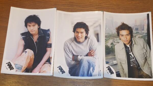 TOKIO長瀬智也☆ブロマイド公式写真3枚