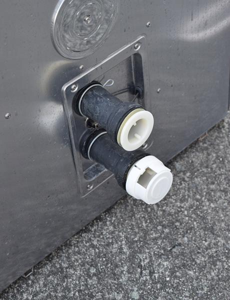 ★パーパス/PURPOSE★都市ガス用ガスふろがま 追いだき 浴室内据置 GF-501SDB 14年製_画像2