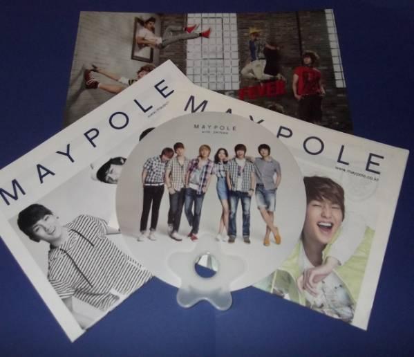 SHINee MAYPOLE カタログ 2冊+ クリアファイル + うちわ セット