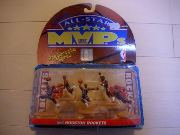 NBA MVP's フィギュア ヒューストン・ロケッツ 1997 新品 グッズの画像