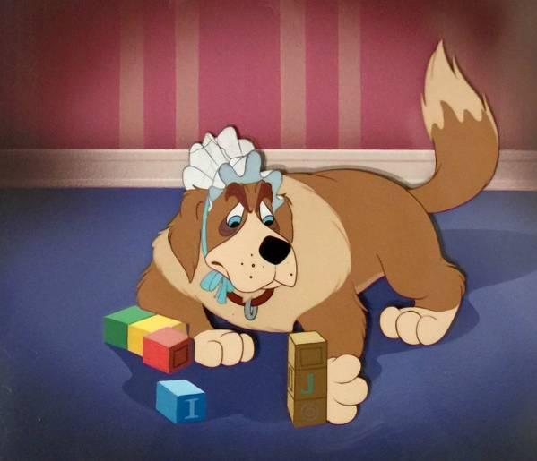 ディズニー ピーターパン ナナ 原画 セル画 限定 レア Disney