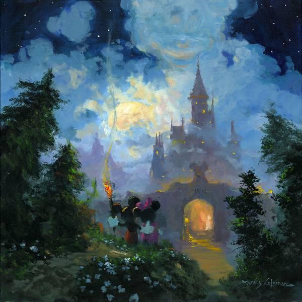 Disney Fine Art ディズニーファインアート ミッキー ミニー ディズニーグッズの画像