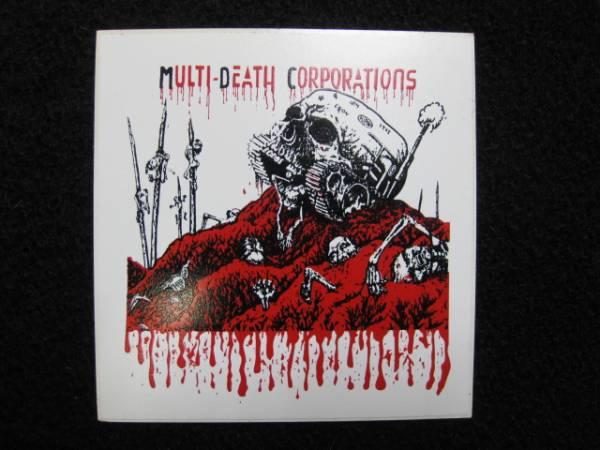 Multi death corporations ステッカー