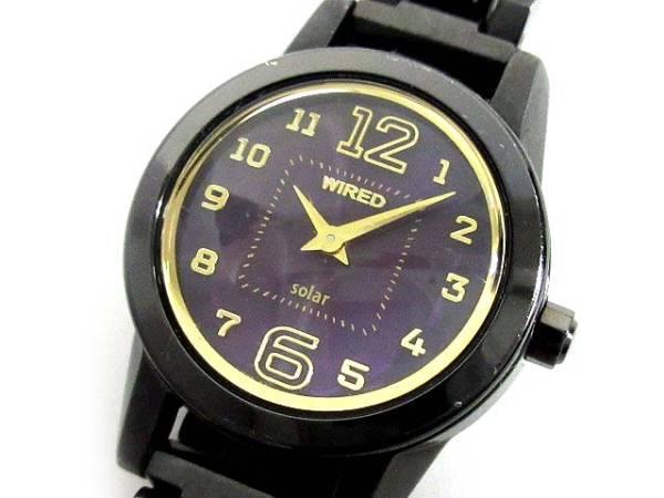 SEIKO WIRED F 腕時計 スウィート ソーラー AGED004 レディース