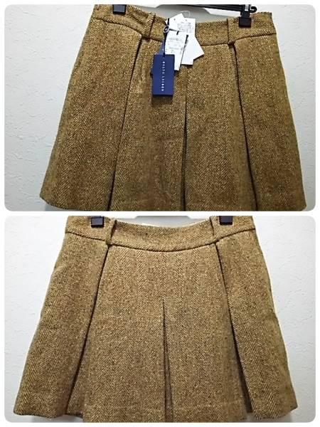 新品タグ付き♪ラルフローレンRalph Lauren♪箱ヒダ ツイード 羊毛・アルパカ スカート♪サイズ6_画像1