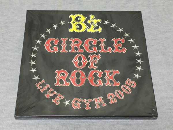 新品 未開封 B'z LIVE-GYM 2005 CIRCLE OF ROCK パンフ シール付き