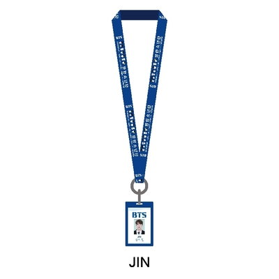 BTS 防弾少年団 JIN ID ケース(ストラップ 付)1点