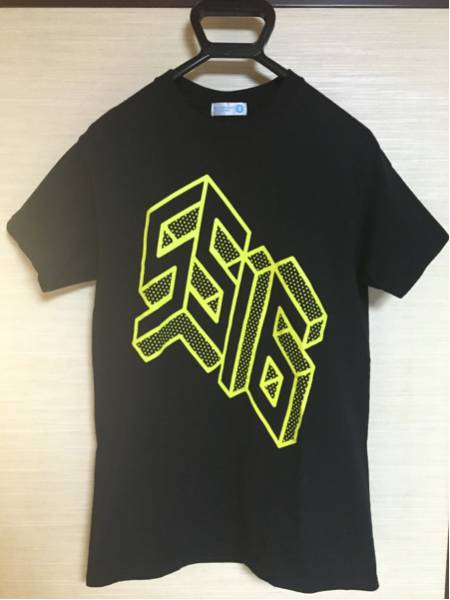 サマソニ SUMMER SONIC 2016 サマーソニック Tシャツ S送料込 黒 ライブグッズの画像