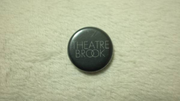 RSR 2010■THEATRE BROOK 缶バッジ■ 佐藤タイジ