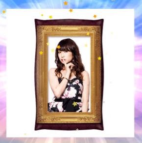 【神景品】 HKT48 朝長美桜 キャバすか学園 神の手 クッション