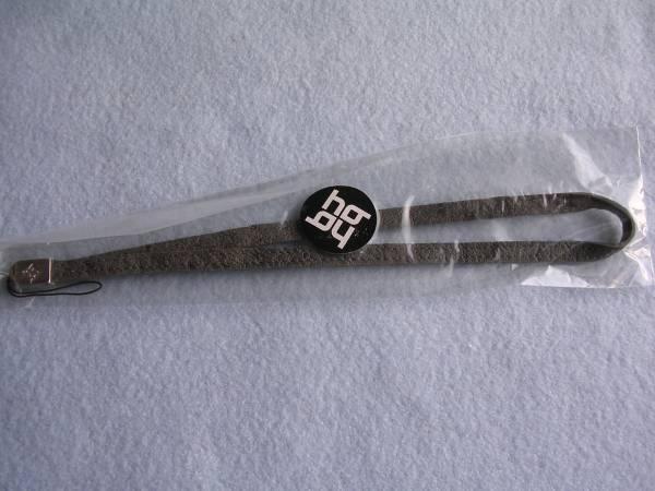 イ・ビョンホン 公式アイテム UNIQUE & GORGEOUS 携帯ストラップ グレー