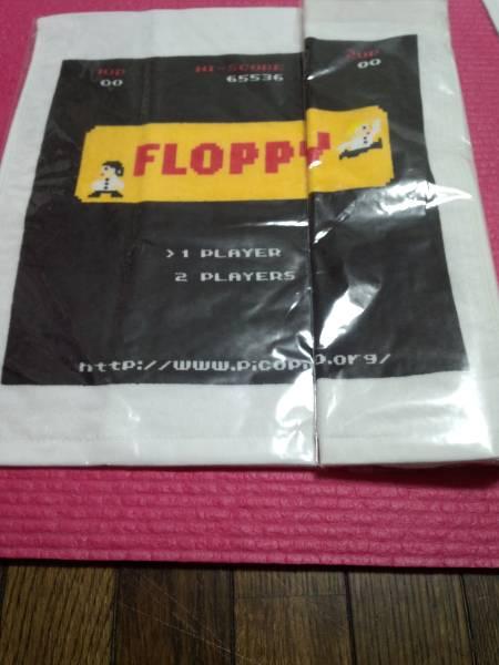 FLOPPY ハンドタオル ファミコン柄 / 新宿ゲバルト メトロノーム シンセサーザーズ ビートサーファーズ