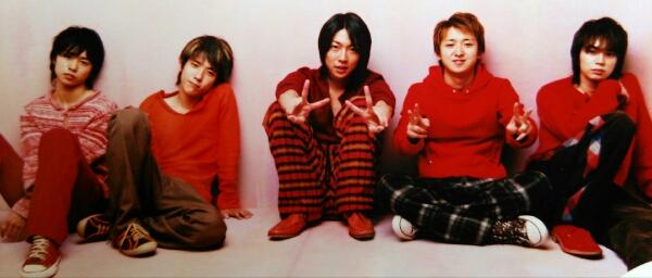 嵐★公式写真★2003年LIVE is HARD★大野智櫻井翔相葉二宮松本③