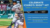 イチロー マーリンズ公認 3000本記念バット MIZUNO社製 ICHIRO