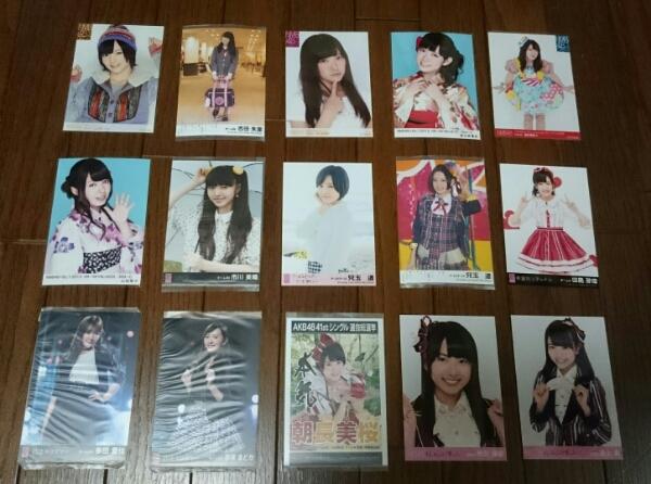 NMB48HKT48 生写真まとめ 約50枚 山本彩 渡辺美優紀 兒玉遥