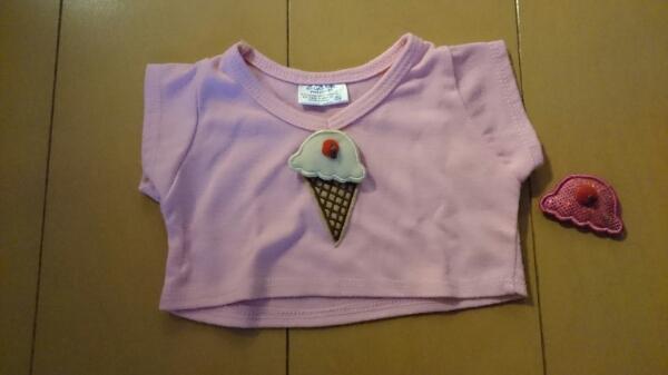 ビルドアベア☆ダッフィー☆アイスのTシャツ☆アイス色交換可能