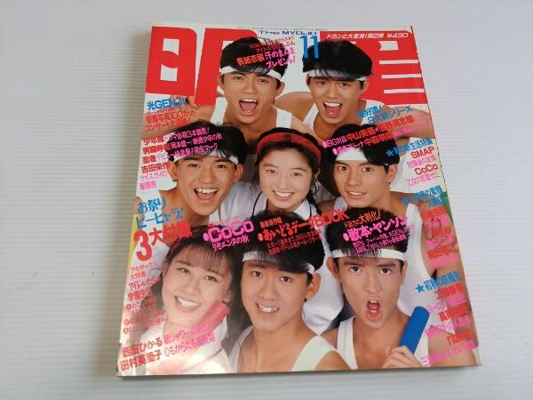 明星 1990 11 SMAP 光GENJI 男闘呼組 忍者 少年隊 コンサートグッズの画像