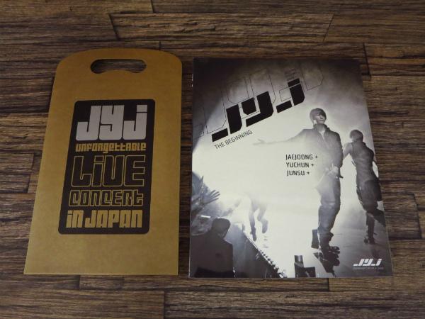 ◇JYJ パンフレット/コンサートブック 東方神起 JYJ UNFORGETTABLE LIVE CONCERT IN JAPAN JYJ THE BEGINNING◇z9910