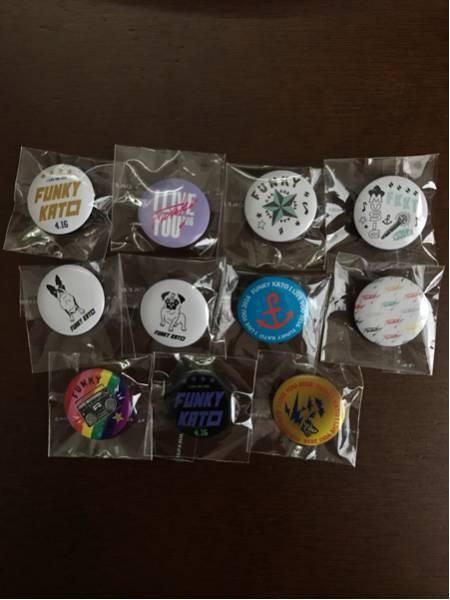ファンキー加藤 I LIVE YOU 日本ガイシホール 缶バッジ 11種類