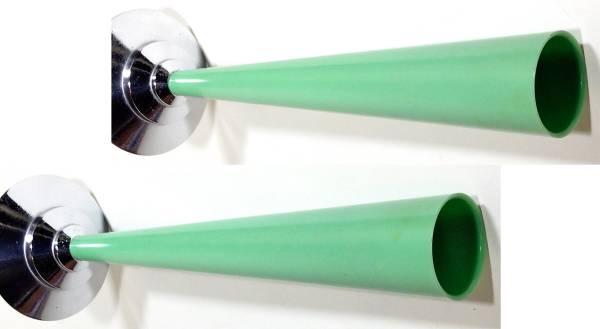 1930's【The Dura Co.】一輪挿しアンティークビンテージアメリカ花瓶花器ランプ照明ドアノブ建具工業系バウハウスドイツモダンデザインgras_画像2