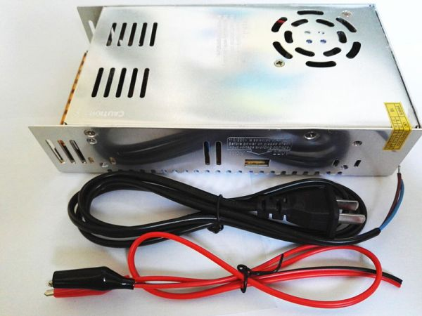 AC DC コンバーター AC110V→DC12V 360W 直流安定化電源+ 配線_画像2
