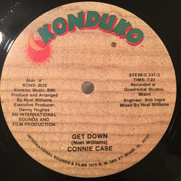 ☆Connie Case/Get Down☆マイアミ産KILLER SYNTH BOOGIE!