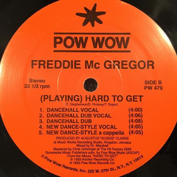 ★Freddie McGregor/(Playing) Hard To Get★哀愁名曲!_画像1