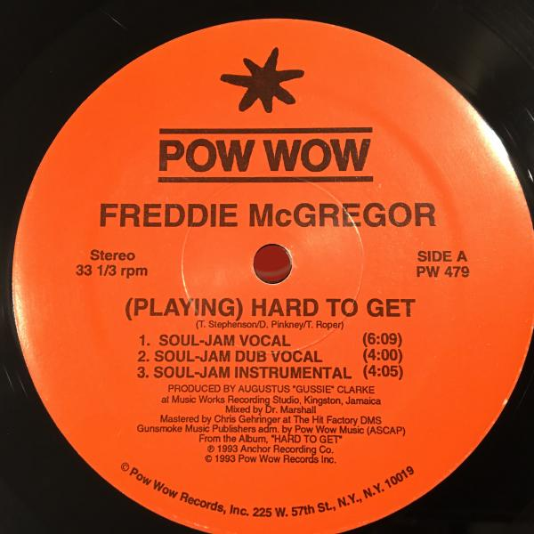 ★Freddie McGregor/(Playing) Hard To Get★哀愁名曲!_画像2