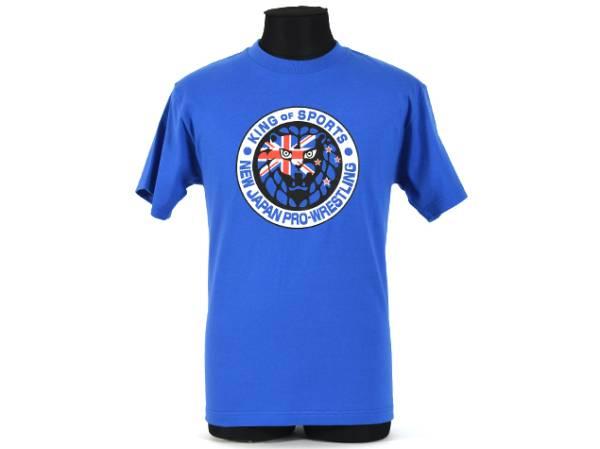 新品 新日本プロレスライオンマークニュージーランド国旗Tシャツ XL グッズの画像