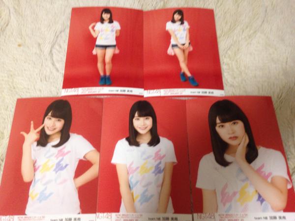 NGT48 1周年記念コンサートin TDC 生写真 5種コンプ 加藤美南