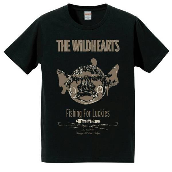 Wildhearts ワイルドハーツ 来日記念Tシャツ 2017 新品 M