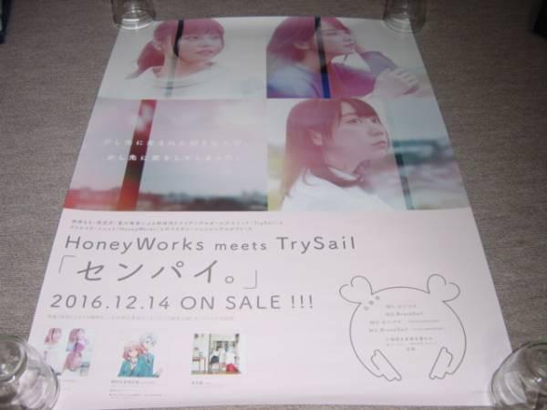 ★送料筒代込【Honey Works meets Trysail センパイ】告知ポスタ