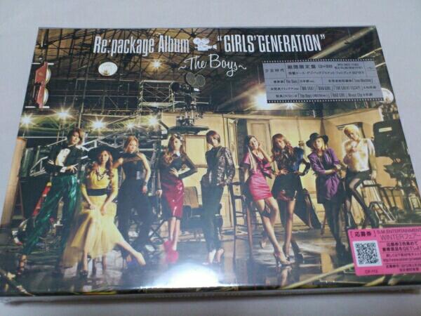 少女時代 リパッケージアルバム~The Boys~期間限定盤