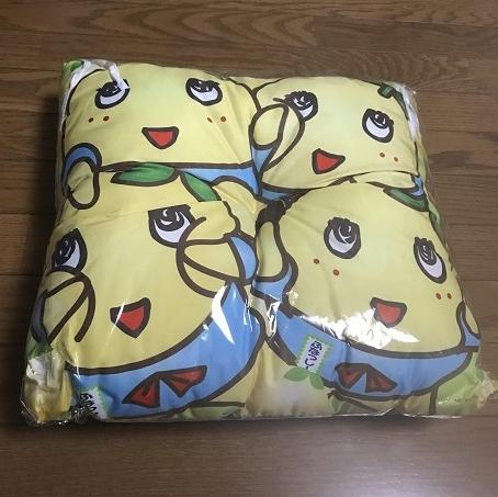 Meetふなっしー☆梨汁ThanksParty☆参加限定☆座布団☆ レア新品