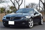 popular compact open obsidian black SLK350 present car verification how?? first come, first served! cheap last Chance!