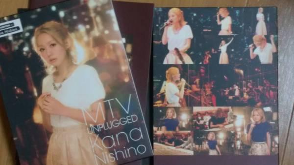 西野カナ『MTV UNPLUGGED』 DVD 初回限定盤 ライブグッズの画像
