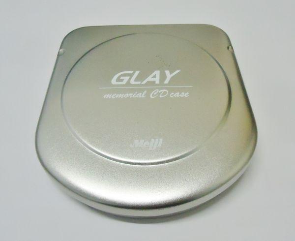 送料無料 GLAY グレイ 明治 非売品 CDケース 懸賞品