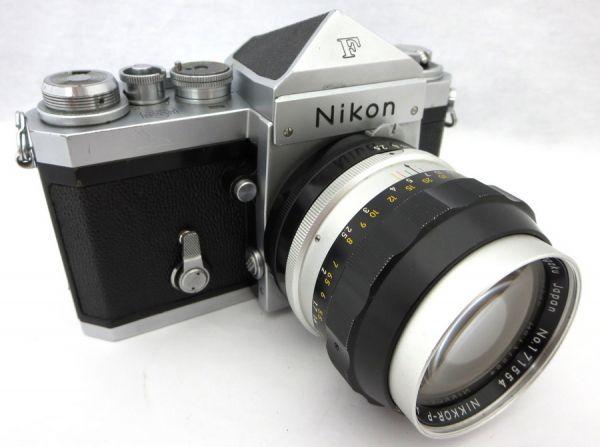 Nikon F NIKKOR-P Auto 1:2.5 f=105mm ニコン エフ 1IHN-032K
