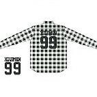 【新品未開封】EXO FC限定 チェックシャツ シウミン 99