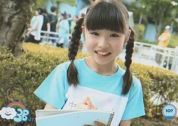 3B junior 生写真 №107 中原咲耶